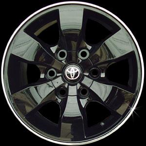ล้อ Toyota Forturner ทำสีดำ