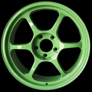 ล้อแม็กซ์ นำมาทำเป็น สีเขียว