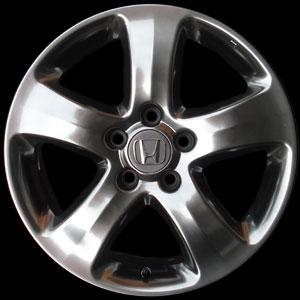 ล้อ Honda CRV กับสี Hyper Chrome