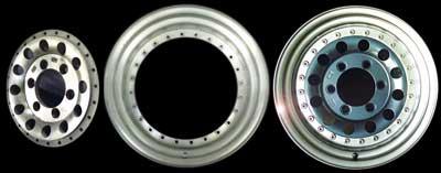 2 Pieces wheel