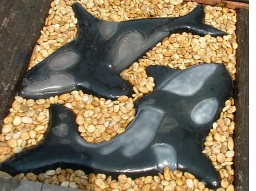แผ่นทางเดินปลาวาฬออร์ก้า