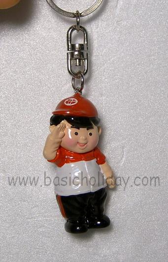 พวงกุญแจ ตุ๊กตา เรซิ่น Mascot ปั้นตามแบบ ของพรีเมี่ยม ของที่ระลึก ของแถม