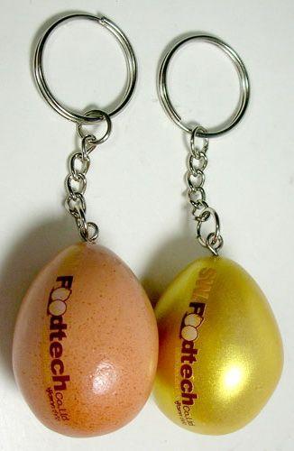 M 2654 พวงกุญแจเรซิ่นไข่สีทอง SW Food Tech พวงกุญแจเรซิ่น พรีเมี่ยม ของพรีเมี่ยม ของที่ระลึก