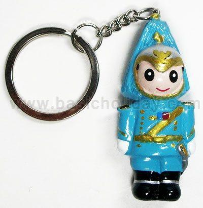 M 3288 พวงกุญแจเรซิ่นตุ๊กตา - ทหารม้า พวงกุญแจ ตุ๊กตา เรซิ่น Mascot ปั้นตามแบบ ของพรีเมี่ยม ของที่ระลึก ของแถม