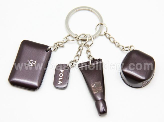 พรีเมี่ยม ของที่ระลึก ของชำร่วย ของขวัญ พวงกุญแจเรซิ่นรูปเครื่องสำอาง