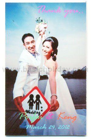 M 3068 ภาพติดตู้เย็น-งานแต่งงาน
