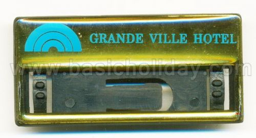 M 3290 ป้ายชื่อติดเสื้อ - Grande Ville Hotel