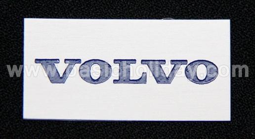 ป้ายอลูมิเนียม-Volvo