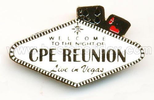 M 3295 เข็มกลัดโลหะ - CPE Reunion