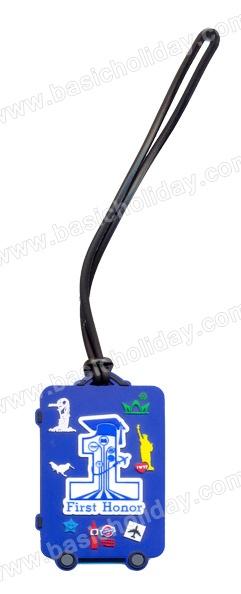 รับผลิตป้ายห้อยกระเป๋ายาง ป้ายคล้องกระเป๋า ที่แขวนกระเป๋า Tag ติดกระเป๋าเดินทาง ป้ายแขวนกระเป๋ายางหยอด ที่ห้อยกระเป๋าของพรีเมี่ยม ของที่ระลึก