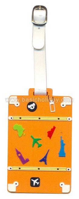 รับผลิตป้ายห้อยกระเป๋ายาง ป้ายคล้องกระเป๋า ที่แขวนกระเป๋า Tag ติดกระเป๋าเดินทาง ป้ายแขวนกระเป๋ายางหยอด ที่ห้อยกระเป๋าของพรีเมี่ยม