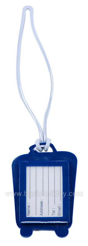 ป้ายคล้องกระเป๋า tag ป้ายกระเป๋า ราคาถูก ขายส่ง สกรีนฟรี ป้ายคล้องกระเป๋าพลาสติก งานด่วน