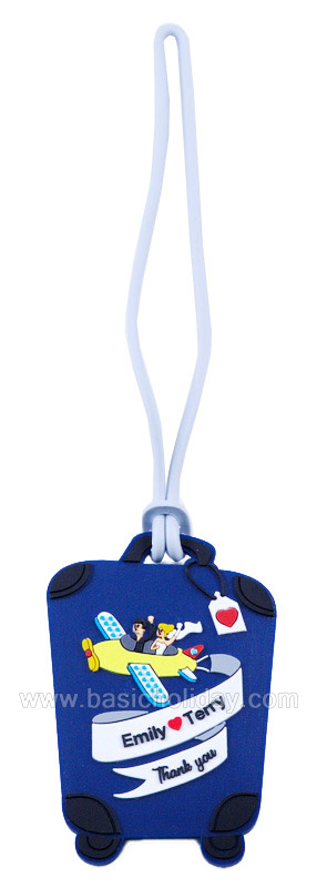 รับผลิตป้ายห้อยกระเป๋าเดินทาง Tag กระเป๋า ป้ายแท็กห้อยกระเป๋า ของพรีเมี่ยม ของที่ระลึก ของชำร่วย งานแต่ง