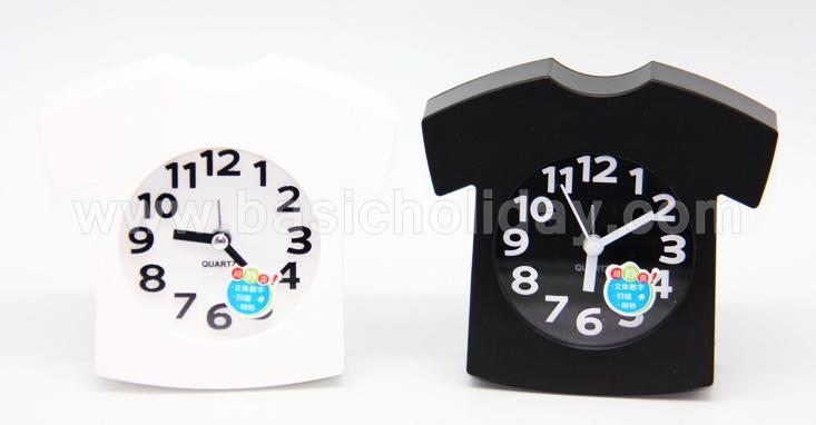 นาฬิกาปลุก ตั้งโต๊ะ นาฬิกาปลุกสกรีนโลโก้ ของแจก ของที่ระลึก ของพรีเมี่ยม นาฬิการูปบ้าน ของที่ระลึก งานต่างๆ