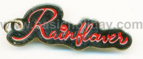 M 3114 พวงกุญแจโลหะ-Rainflver พวงกุญแจโลหะ ของพรีเมี่ยม พวงกุญแจ