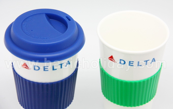 ถ้วยเซรามิคทรงสูง-มียางหุ้มจับ-มีฝาปิดยาง-DELTA แก้วน้ำ แก้วมัค แก้วสรีน แก้วน้ำใส แก้วทรงสั้น แก้วทรงสูง แก้วน้ำมีหูจับ แก้วกาแฟ สกรีน พรีเมี่ยม ของชำร่วย