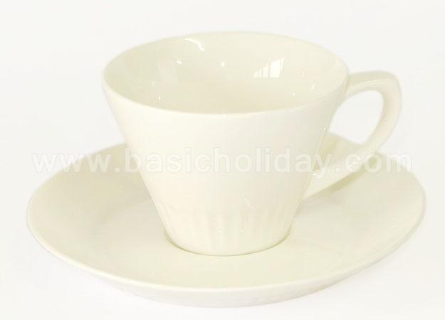 แก้วกาแฟพร้อมที่รองแก้ว แก้วเซรามิค ถ้วยกาแฟเซรามิค ของขวัญ ของที่ระลึก ของพรีเมี่ยม ของขวัญแจกพนักงาน