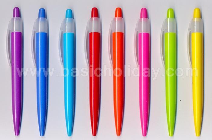 ปากกา พลาสติก 2 พรีเมี่ยม ปากกา สกรีนโลโก้ ปากกาพรีเมี่ยม ของพรีเมี่ยม ปากกา ที่ระลึก