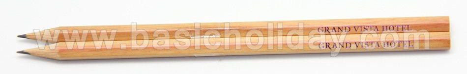 ดินสอไม้ มีโลโก้ ดินสอ พรีเมี่ยม ของพรเมียม ของที่ระลึก รับทำดินสอไม้ใส่ชื่อ ใส่โลโก้