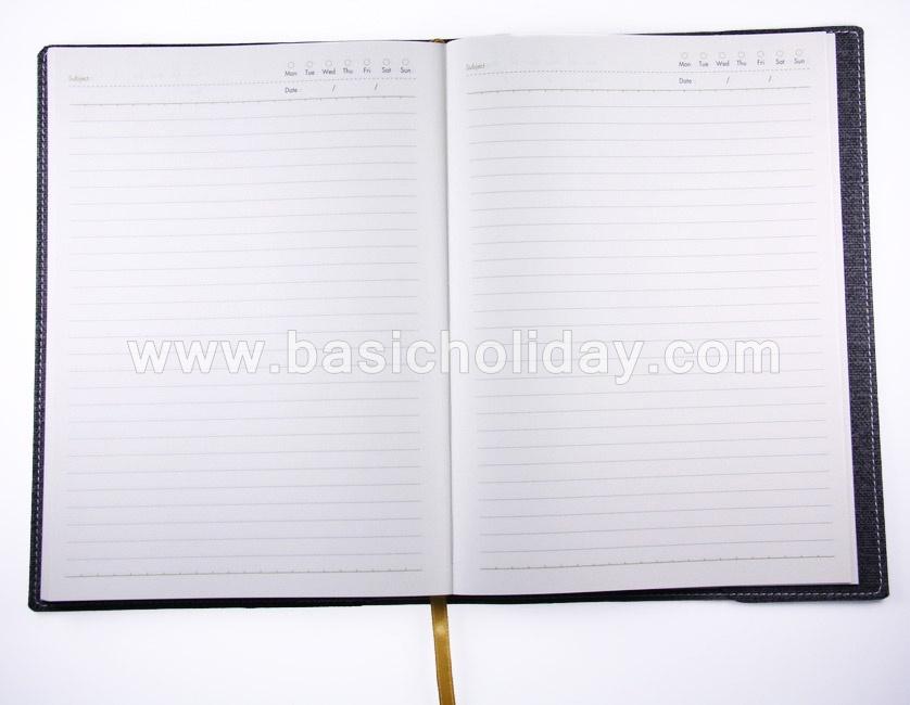 สมุดไดอารี่ ไดอารี่ ขนาด A4 ออร์กาไนเซอร์ สมุดโน๊ตสมุดบันทึก สมุดปกหนัง สมุดปกผ้า สมุดพรีเมี่ยม แจกที่ระลึก