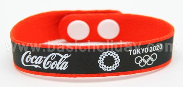 สายรัดข้อมือ wristband ริสต์แบนด์ ที่รัดข้อมือ ของ พรีเมี่ยม สินค้าที่ระลึก ของแจก สายรัดข้อมือติดกระดุม