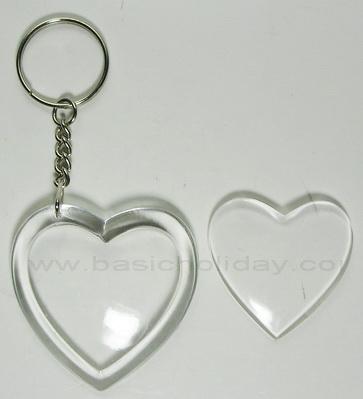 M 1218/K106 พวงกุญแจหัวใจ