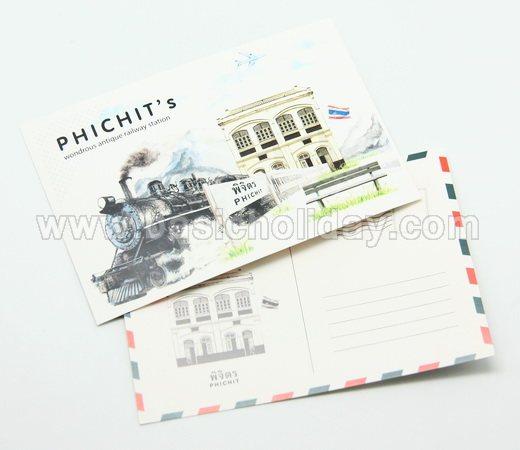 โปสการ์ดพิมพ์ออฟเซ็ท พิมพ์โปสการ์ด post card ทำของแจก ของพรีเมี่ยม ของขวัญ ของที่ระลึกในงานต่างๆ