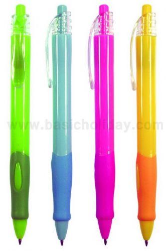 pen 408  ปากกาพลาสติก ปากกา ของพรีเมี่ยม สกรีนฟรี