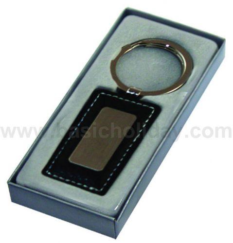 P 1843 พวงกุญแจ รูปทรงสี่เหลี่ยมผืนผ้า+กล่อง
