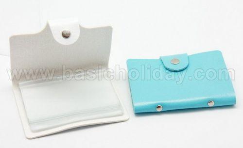 P 2099 กระเป๋านามบัตรหนังเทียม