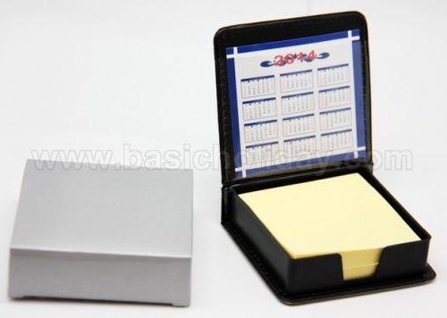 P 2158 กระดาษโน้ตในกล่อง (สีเทา,สีทอง)
