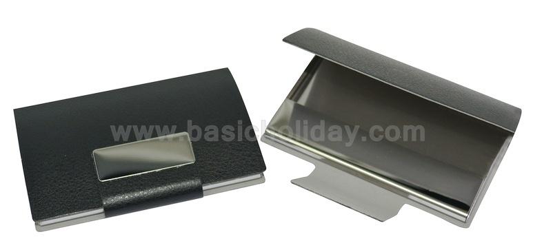 ตลับนามบัตรหนังสีดำ รวมกล่อง souvenir ของที่ระลึก สินค้าพรีเมี่ยม สั่งผลิต ของขวัญ premium ของชำร่วย สั่งทำ ของแจก พรีเมี่ยม