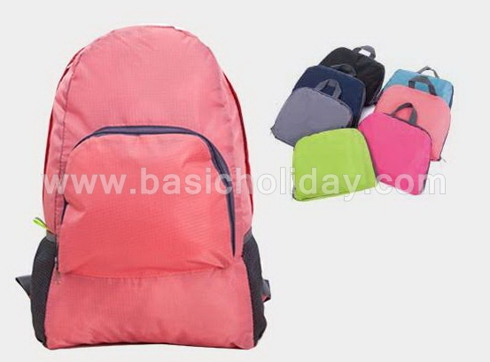 กระเป๋า กระเป๋าเป้ กระเป๋าเป้สะพายหลัง กันน้ำ กระเป๋าเดินทาง กระเป๋าพับได้ เป้พับได้ ของขวัญ สกรีนโลโก้ กระทัดรัด
