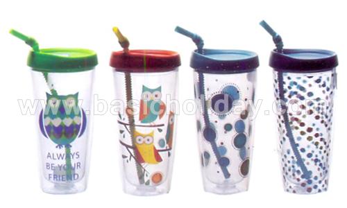 กระบอกน้ำ กระติกน้ำสูญญากาศ กระติกน้ำ เก็บความร้อนกับความเย็น plastic mug แก้วน้ำพลาสติก แก้วพลาสติก plastic tumbler