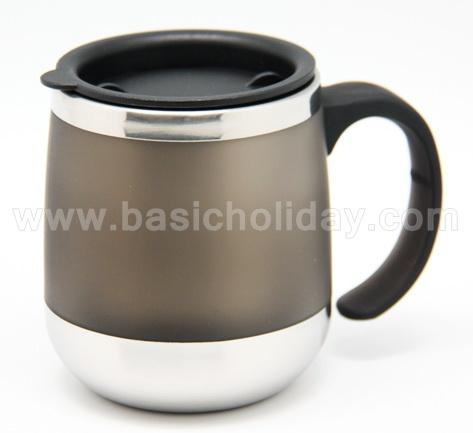 กระบอกน้ำพลาสติก แก้วกาแฟ กระติกน้ำสูญญากาศ กระติกน้ำ เก็บความร้อนกับความเย็น plastic mug แก้วน้ำพลาสติก ลายน่ารัก สกรีนโลโก้