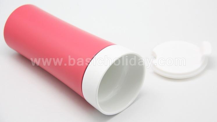 กระบอกน้ำพลาสติก กระติกน้ำสูญญากาศ กระติกน้ำ เก็บความร้อนกับความเย็น plastic mug แก้วน้ำพลาสติก ลายน่ารัก เซรามิก