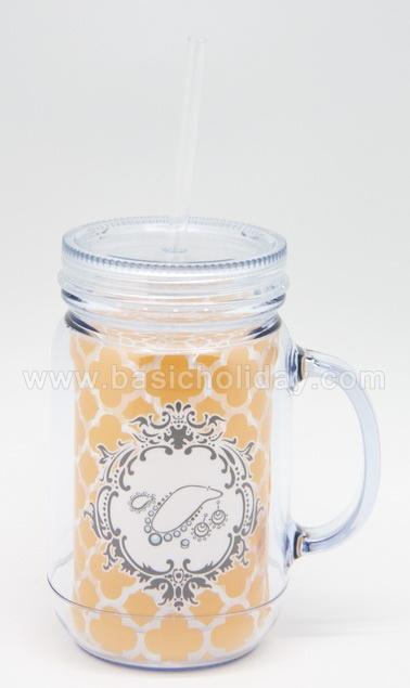 กระบอกน้ำพลาสติก กระติกน้ำสูญญากาศ กระติกน้ำ เก็บความร้อนกับความเย็น plastic mug แก้วน้ำพลาสติก ลายน่ารัก