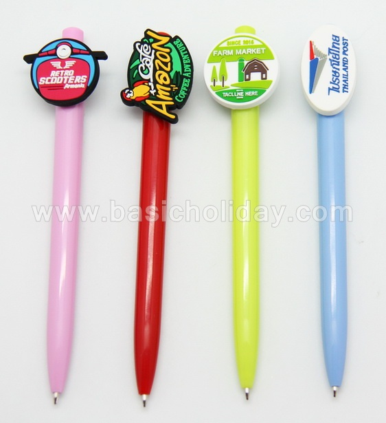 ปากกาโลโก้ยาง ปากกามาสคอต mascot pen ปากกาหัวการ์ตูน ปากกาหัวโลโก้ ปากกาน่ารัก ปากกาตุ๊กตา ปากกาสัญลักษณ์