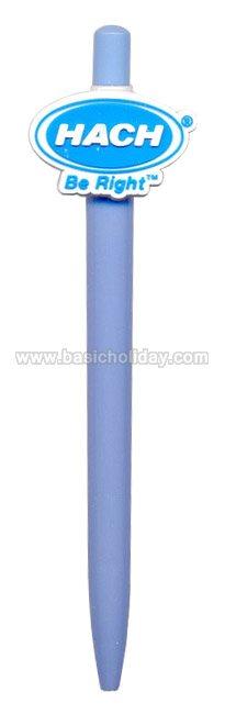 ปากกาโลโก้ยาง ปากกามาสคอต mascot pen ปากกาหัวการ์ตูน ปากกาหัวโลโก้ ของที่ระลึก ของพรีเมี่ยม ของแจก ของขวัญ
