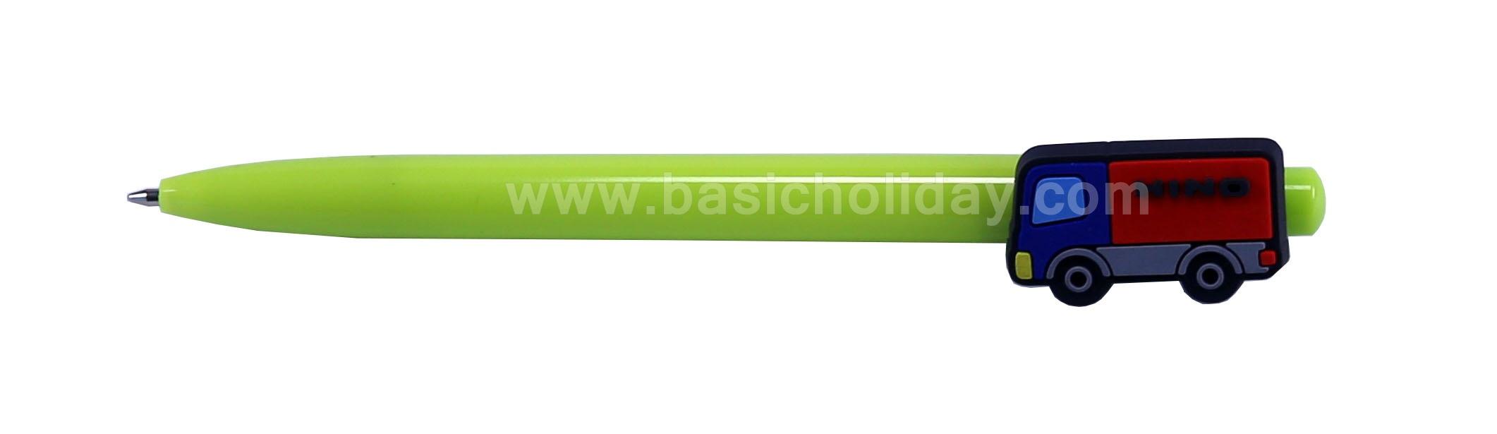 ปากกาโลโก้ยาง ปากกามาสคอต mascot pen ปากกาหัวการ์ตูน ปากกาหัวโลโก้ ของที่ระลึก ของพรีเมี่ยม ของแจก