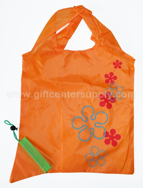 ถุงผ้าพับได้ ลดโลกร้อน กระเป๋าผ้าพับเก็บได้  ถุงช้อปปิ้ง shopping bag ขายส่ง ถุงผ้าผลไม้ ถุงผ้างานด่วน