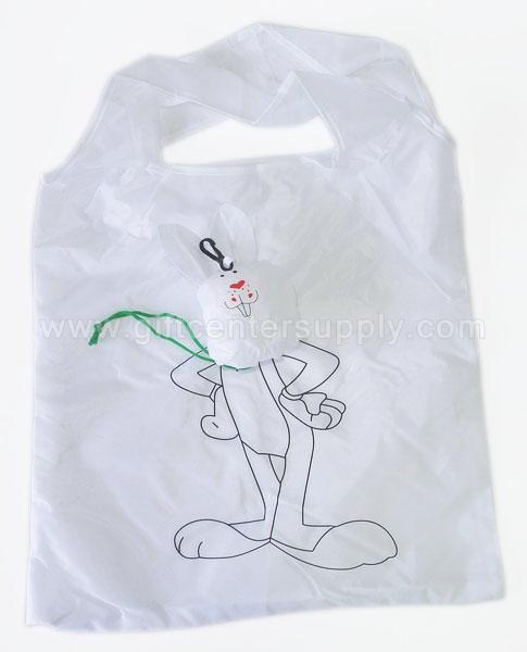 ถุงผ้าพับได้ ลดโลกร้อน กระเป๋าผ้าพับเก็บได้  ถุงช้อปปิ้ง shopping bag ขายส่ง ถุงผ้ารูปสัตว์ ถุงผ้าผลไม้
