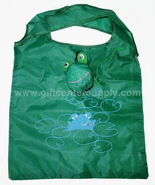 ถุงผ้าพับได้ ลดโลกร้อน กระเป๋าผ้าพับเก็บได้  ถุงช้อปปิ้ง shopping bag ขายส่ง ราคาถูก สกรีนได้ งานด่วน
