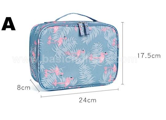 กระเป๋าจัดระเบียบ ใส่เครื่องสำอางค์ ของใช้ส่วนตัว ขนาดใหญ่ ใส่ของจุใจ สกรีนฟรี งานด่วน ของขวัญแจก