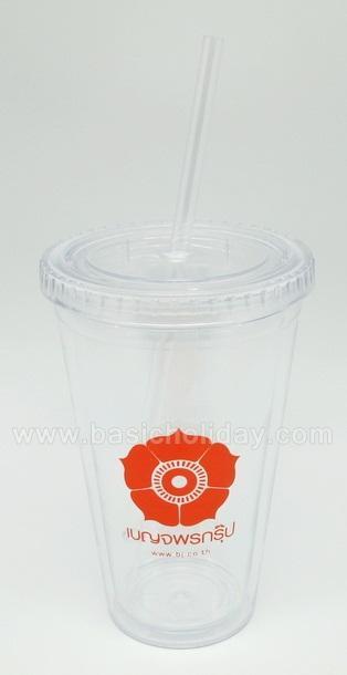 แก้วน้ำ 2 ชั้น แก้ว Starbucks ถ้วยสตาร์บัค กระติกน้ำ ถ้วยน้ำ Tumbler พลาสติก สินค้าพรีเมี่ยม ของชำร่วย ของแจก สกรีนโลโก้