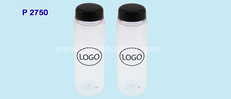 กระบอกน้ำพลาสติกใส 500 ml.