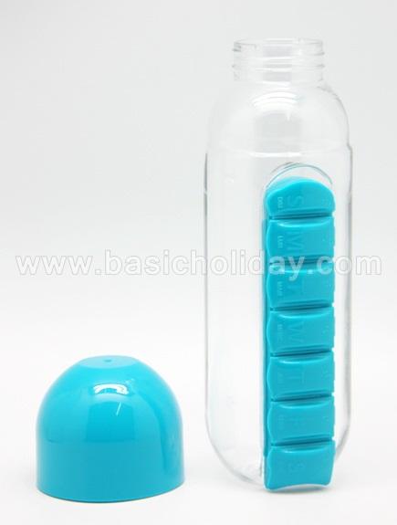 กระบอกน้ำ กระติกน้ำพลาสติก ใส่ยาได้ กระบอกน้ำพลาสติค ของแจก สกรีนโลโก้ ของแถม  ขวดน้ำพลาสติก กระติกน้ำ สินค้าพรีเมี่ยม giftshop