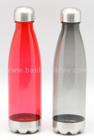 กระบอกน้ำ กระติกน้ำพลาสติก กระบอกน้ำฝาอลูมิเนียม แก้วน้ำพลาสติก