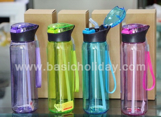 กระบอกน้ำพรีเมี่ยม กระบอกน้ำพลาสติก ของพรีเมี่ยม ของชำร่วย ของขวัญ ของแจก สกรีนฟรี