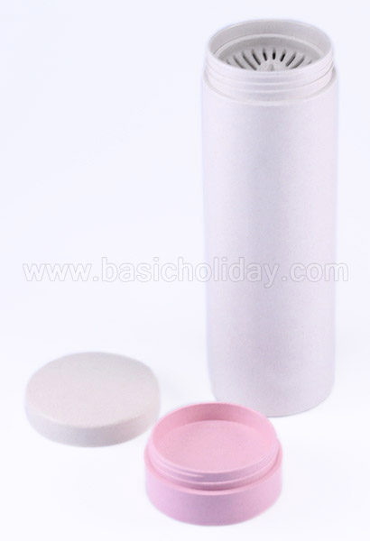 กระบอกน้ำ ECO Water Bottle ECO ย่อยสลายได้ แก้วน้ำวัสดุธรรมชาติ กระบอกน้ำฟางข้าวสาลี ทำของแจก